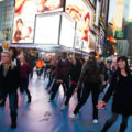 Times-Square-Flash-Mob-Marriage-Proposal-Booked-through-GoSeeDo-by-Kinesis-Project-Performing-for-the-soon-to-be-engaged-couple